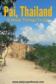 There are many things to do in Pai, from visiting the famous canyon, to sliding down waterfalls, eating along the night walking street and. Thailand Travel Advice, Thailand Destinations, Asia Travel, Travel Destinations, Weekend Trips, Weekend Getaways, Vacation Trips, Vacation Spots, Chiang Rai