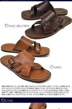 shoecafe   Rakuten Global Market: Bump N' GRIND vamp and shoes men zouk loss leather strap sandals men's sandal leather to grind