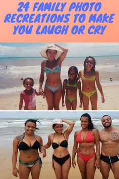 It's a great way for you to see how you've changed over the years and to bond with your family all over again. It can also have some really hysterical or really sweet results. Here are 24 times that people absolutely got it perfect when it came to their family photo recreations. You be the judge!