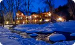 Sipapu has a promo out for a free night lodging with the purchase of a $44 lift ticket. This small ski area is quieter and better for learning.