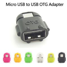 Android Robot Shaped Micro USB to USB OTG Adapter Cable for Smart Phone Galaxy S3 S4 Note2  Price: 0.59 USD