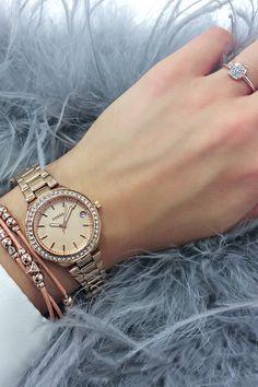 108de8a5b2f Die 65 besten Bilder von VALMANO ♥ Damenuhren | Gold pearl, Fossil ...