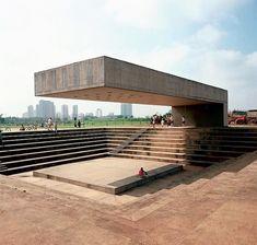 Music amphitheater... #saupaulo #brazil 1987...... check @porterarquitectos for more .... . . . . . .✔️for more follow