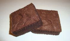 brownies {felt food}