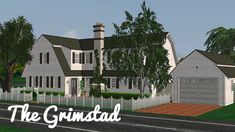 200 Followers Gift! I reached 200 followers a few... - simspatrick The Sims, Sims 3, Sims 2 House, Cottages And Bungalows, Dutch Colonial, Architectural Elements, Mansions, Followers, House Styles