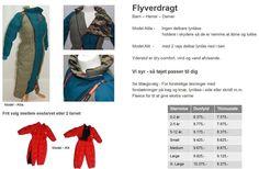 Flyverdragt - tøj til handicap og kørestol