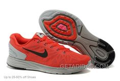 http://www.getadidas.com/nike-men-lunarglide-6-running-shoes-red-grey-discount.html NIKE MEN LUNARGLIDE 6 RUNNING SHOES RED GREY DISCOUNT Only $69.00 , Free Shipping!