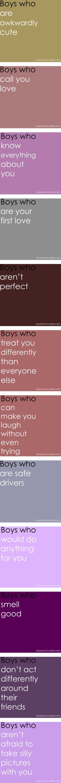 boys who... <3