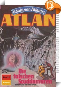 Atlan 411: Die falschen Scuddamoren (Heftroman)    :  Als Atlantis-Pthor, der durch die Dimensionen fliegende Kontinent, die Peripherie der Schwarzen Galaxis erreicht - also den Ausgangsort all der Schrecken, die der Dimensionsfahrstuhl in unbekanntem Auftrag über viele Sternenvölker gebracht hat -, ergreift Atlan, der neue Herrscher von Atlantis, die Flucht nach vorn. Nicht gewillt, untätig auf die Dinge zu warten, die nun zwangsläufig auf Pthor zukommen werden, fliegt er zusammen mit...