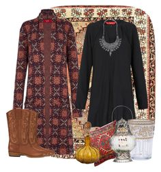 A fashion look from June 2016 featuring tiger lily dresses, brown cowgirl boots and coin jewellery. Browse and shop related looks. Brown Cowgirl Boots, Coin Jewelry, Dot And Bo, Moroccan, Gypsy, Fashion Looks, Winter, Polyvore, Model