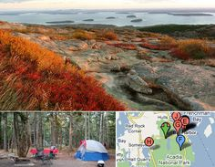 Must Visit Campground: Blackwoods Campground (Acadia National Park, Maine)