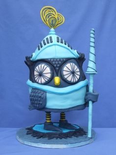 Knight Owl By sparrow-26 on CakeCentral.com