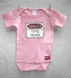 Baby Bodysuit Infant One Piece Trendy Kids Clothes by HazardBaby