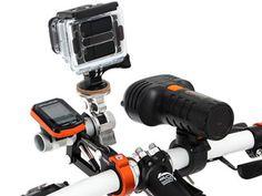 DOPPELGANGER、サスペンションでアクションカメラのブレを防止する自転車用マウント