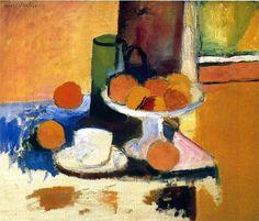 Still Life with Oranges II, 1899 Henri Matisse
