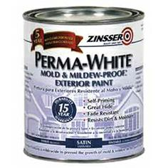 PERMAWHITE Mold MildewProof Interior Paint Is Specifically - Paint to cover mold in bathroom