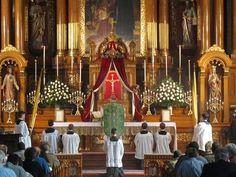 Latin Mass at my Chicago home parish - St. John Cantius