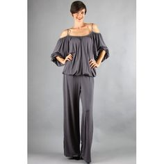 James and Joy by Joy Han Jill Jumpsuit in Charcoal Prom Dresses Online, Designer Shoes, Charcoal, Jumpsuit, Rompers, Joy, Couture, Stuff To Buy, Clothes