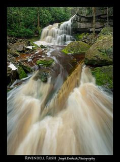 Elakala Falls, Shays Run, Blackwater Falls State Park, West Virginia. Photo: Joseph Rossbach via Flickr
