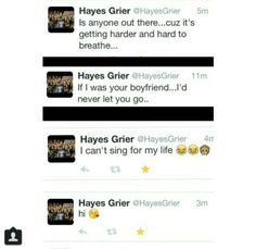 Hayes Grier ;)