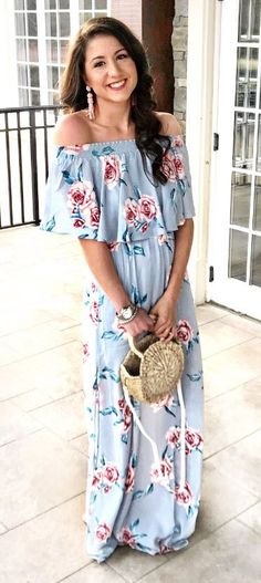 Floral dress outfit, floral dress long, what to wear to a Summer wedding, Show Me Your Mumu dress, straw tote bag, how to wear a straw tote bag, Terra Roisin, Fifteen Minutes to Flawless