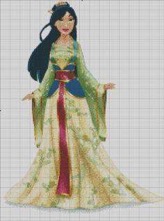 [Disney Princess] Mulan by RoseXinh.deviantart.com on @DeviantArt