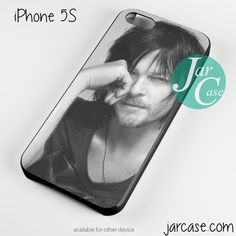 Norman Reedus As Daryl Phone case for iPhone 4/4s/5/5c/5s/6/6 plus