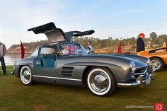 1955 Mercedes-Benz 300 SL Gullwing Coupe finished in Grey Silk over Turquoise leather