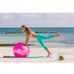For all you bombshells following the 8 Week #BikiniProgram, today's routine is your Beach Ball Workout! 🌺🌴🌊 Improve balance, target your total body & work every angle of your core with this turbocharged toning routine! Don't have the program yet? Order the #DVD or Digital Downloads today on www.BeachBabe.com! @karenakatrina #TIUteam #BeachBabe #BIKINISERIES #BB3  BikiniProgram,DVD,TIUteam,BeachBabe,BIKINISERIES,BB3 Workout To Lose Weight Fast, How To Lose Weight Fast, Fitness Photos, Fitness Motivation, Fitness Workouts, Beach Ball, Tone It Up, Total Body, Workout Videos