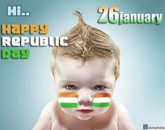 Indian Republic Day Wallpapers Cute Baby