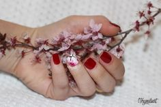 PASO A PASO EN EL BLOG! #flowers #nailart #uñasdecoradas #notd #npa