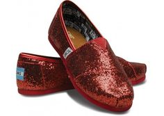 I think some Dorothy red toms would add some lovely sparkle to my wardrobe