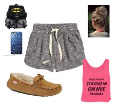 """""""Sleepover"""" by madisonbanks on Polyvore featuring H&M and Slippers International"""