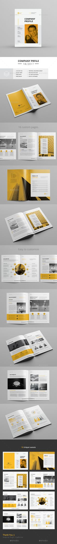 Corporate Business Brochure — InDesign INDD #identity #creative • Download ➝ https://graphicriver.net/item/corporate-business-brochure/19603057?ref=pxcr