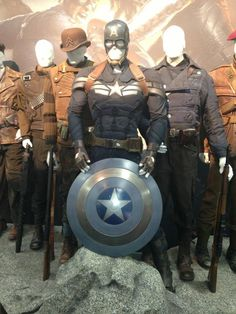Captain America #2 Movie Costume Winter Soldier
