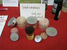 BEST MAKEUP EVER!!  By Lemongrass Spa.  Natural, Talc Free, Chemical Free and Dye Free!  So good for the face and absolutely beautiful on!  Check it out at www.ourlemongrassspa.com/1504