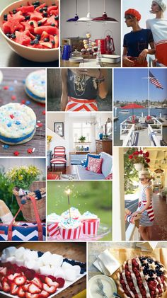 Mood Board Monday: Red, White + Blue for #Memorial Day (http://blog.hgtv.com/design/2013/05/27/mood-board-monday-red-white-blue-for-memorial-day/?soc=pinterest)