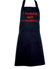 Funny Adult Apron, Naughty Fucking, Spill Everything, Custom Birthday Gag Gift Exchange, Boss, Wife, Cook, Partner, Hubby, Ships TODAY 1423 Birthday Gag Gifts, Grilling Gifts, Gift Exchange, Embroidery Ideas, Unity, Apron, Promotion, Boss, Ships