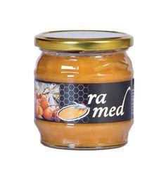 Pastovaný kvetový med srakytníkom 500g