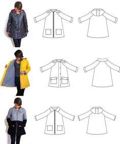 14 Best Coat pattern inspiration @verstas247 images in 2020