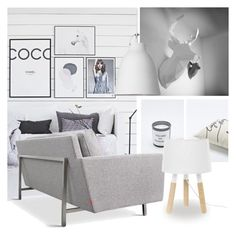 """""""HANG A TROPHY"""" by tiziana-melera ❤ liked on Polyvore featuring interior, interiors, interior design, home, home decor, interior decorating, Gus* Modern and Lightyears"""