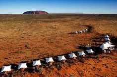 Longitude 131, Ayers Rock, Northern Territory, Australia #luxury #tented #accommodation