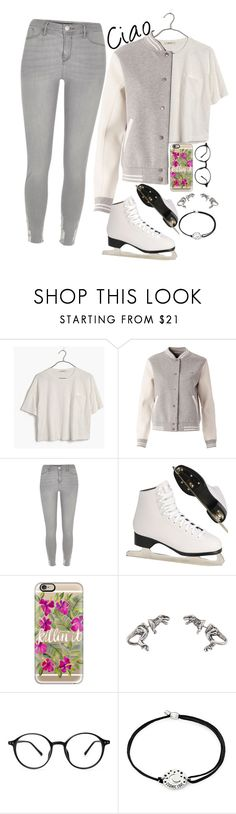 """""""Ciao Adios Goodbye"""" by smokeylovebae ❤ liked on Polyvore featuring Madewell, Tommy Hilfiger, River Island, Casetify and Alex and Ani"""