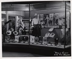 1950s Levi's Clothing Store