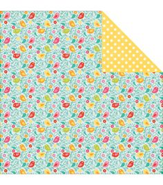 """Birdie Bliss - Summer Bliss Double-sided Cardstock 12""""x12"""""""