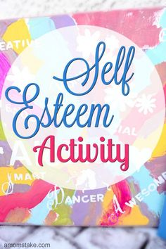 Great Self-Esteem art activity to do with your kids. Help create a new generation of leaders.