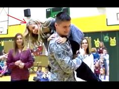 Soldier Surprises Sister At School And Gets an Awesome Reaction! - YouTube