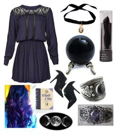 """""""Wicca"""" by ginaisanerd ❤ liked on Polyvore featuring Sea, New York, Bisou Bijoux Ariela and Jeffrey Campbell"""