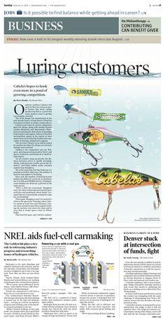 Sunday, August 11, 2013 Denver Post Business cover. Illustration by Sev Galvan.