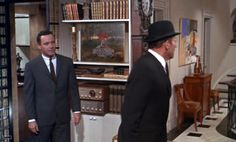 """Entry hall passage set from """"How To Murder Your Wife"""" 1965   Production Designer Richard Sylbert"""